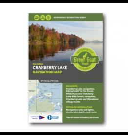 Green Goat Maps Cranberry Lake Navigation Map