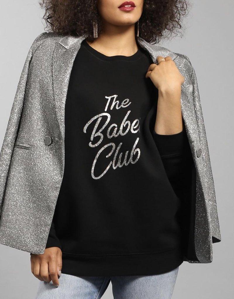 Brunette Showroom Babe Club Big Sis Sweater