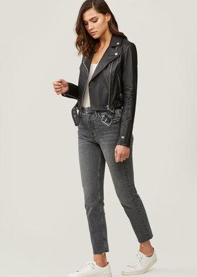 Soia and Kyo Clodia Leather Moto Jacket