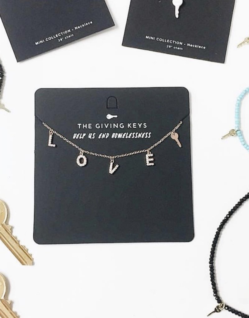 The Giving Keys LOVE Necklace