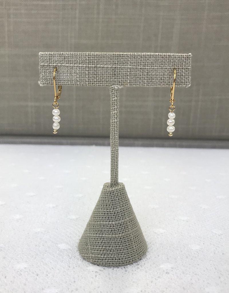 Studio III.XX Freshwater Pearl Drop Earrings