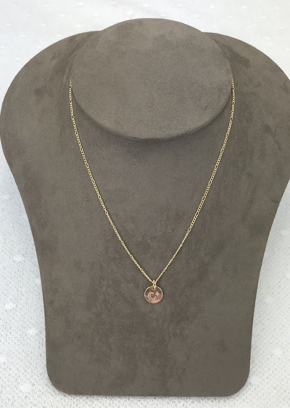 Studio III.XX Stamped Coin Necklace