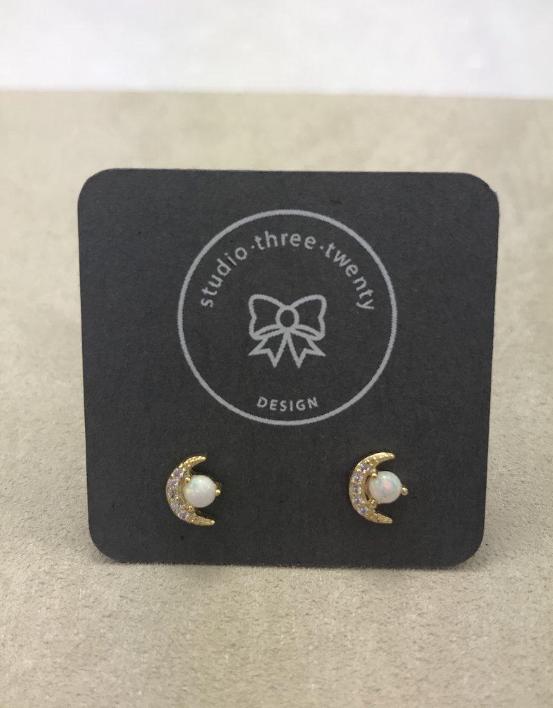 Studio III.XX CZ Stud Earrings