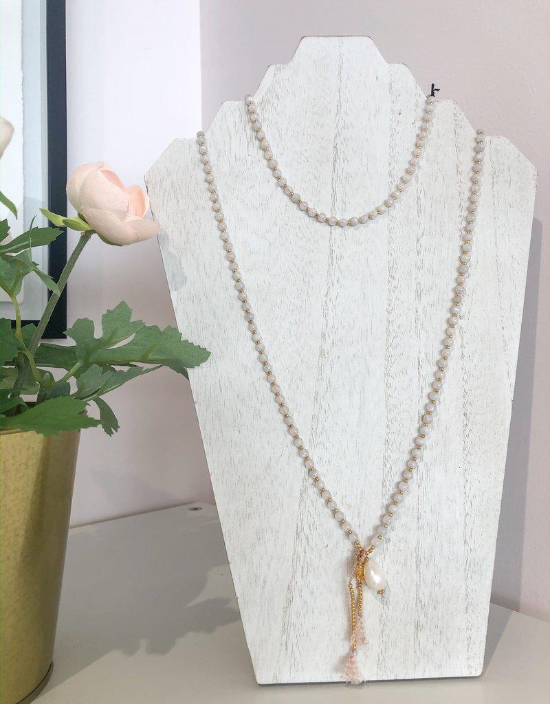 BlacKnot Jewellery Moonstone Pearl