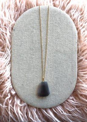 "Studio III.XX 36"" Chain + Stone Necklace"