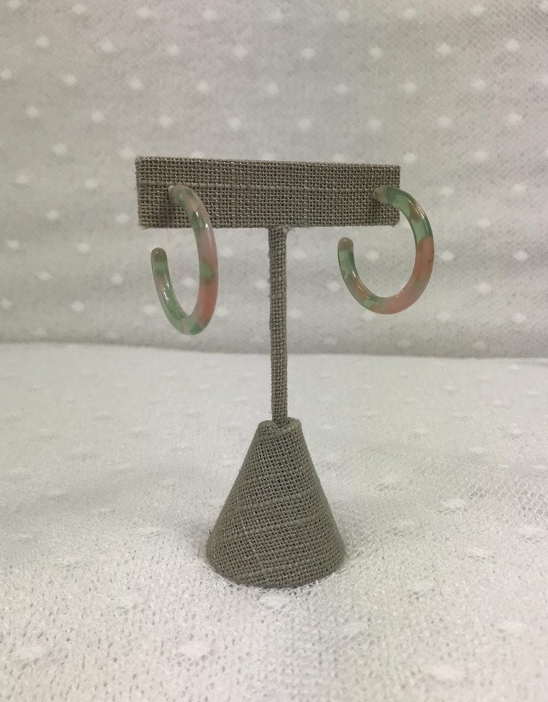 Studio III.XX Small Acrylic Hoops