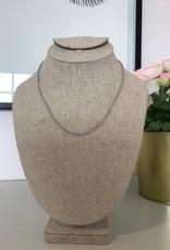 Studio III.XX Mini Beaded Collar w Crystal