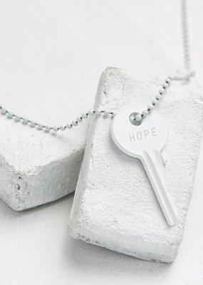 The Giving Keys Matte White Giving Key