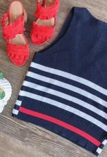 Autumn Cashmere Sleeveless Shaker Knit