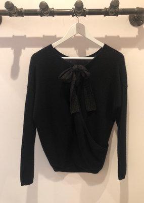 Absolut Cashmere Adele Ribbon Back Sweater
