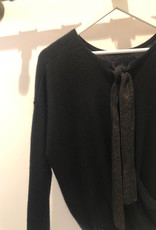 Absolut Cashmere Adele Ribbon Back Sweater