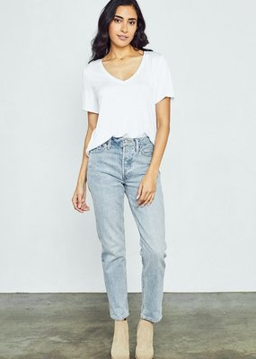 Gentle Fawn Lewis V Neck Tee