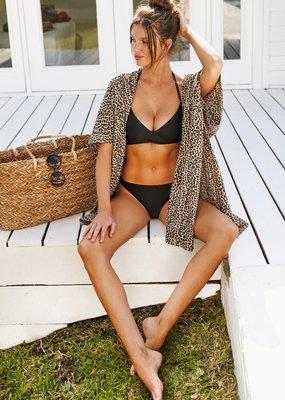 Brunette Showroom Beach Babe Kimono