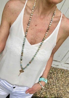 BlacKnot Jewellery Amazonite Quartz Necklace