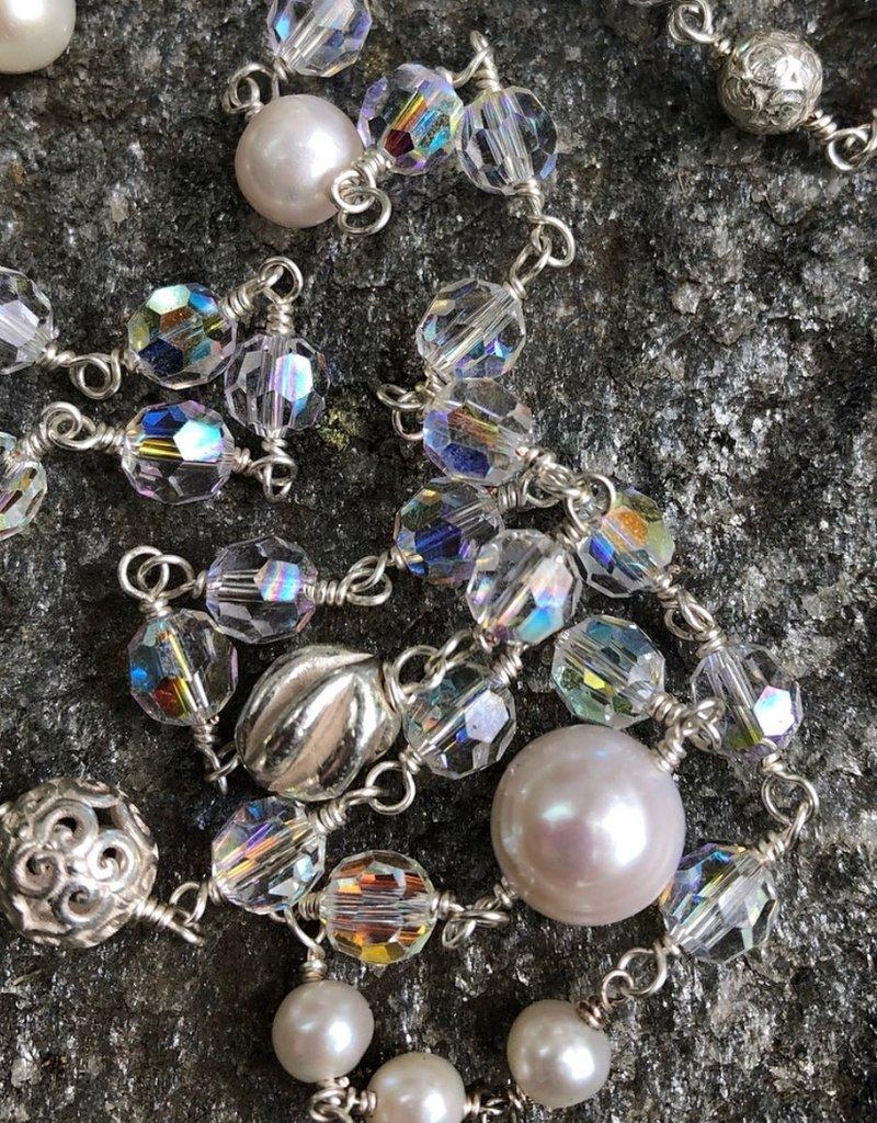 BlacKnot Jewellery Swarovski Crystal Pearls