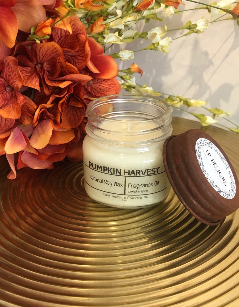 LD Designs Fall Scent 6oz. Soy Candle