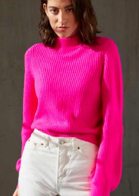 Autumn Cashmere Mock Neck Sweater