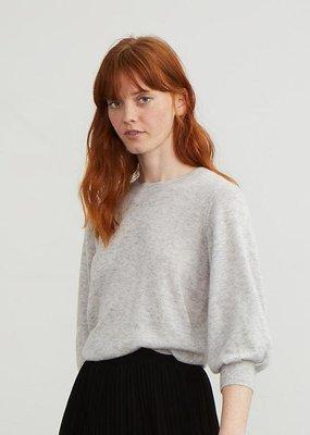 Autumn Cashmere 3/4 Puff Sleeve Sweater