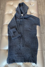 Autumn Cashmere Distressed Hoodie Dress