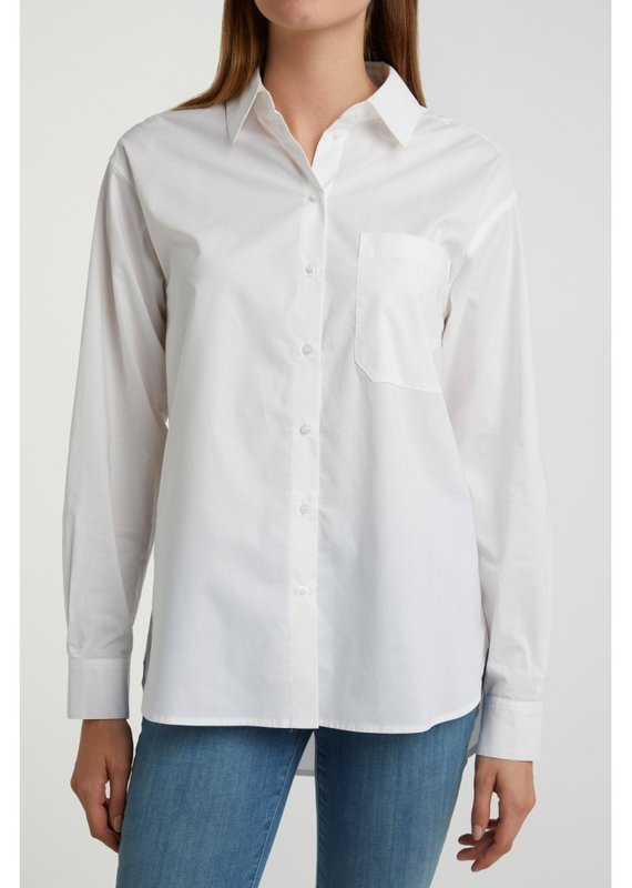 Yaya Cotton Poplin Shirt