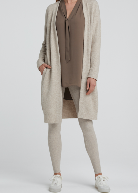 Yaya Long Pocket Cardigan
