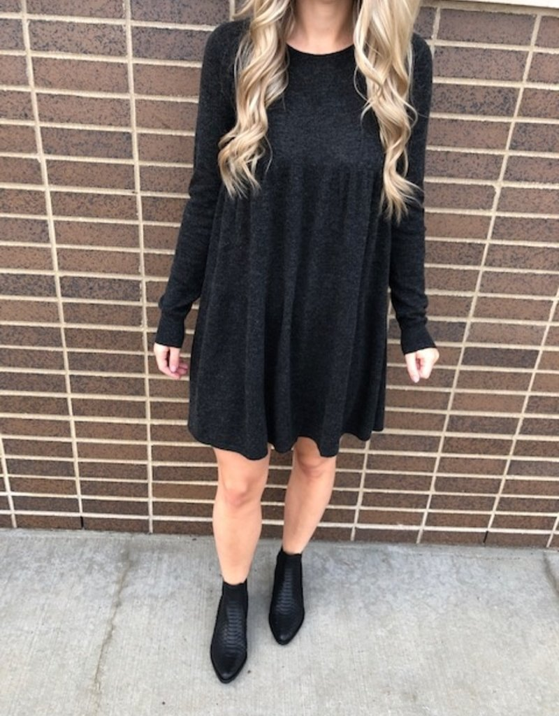 Autumn Cashmere Baby Doll Knit Dress