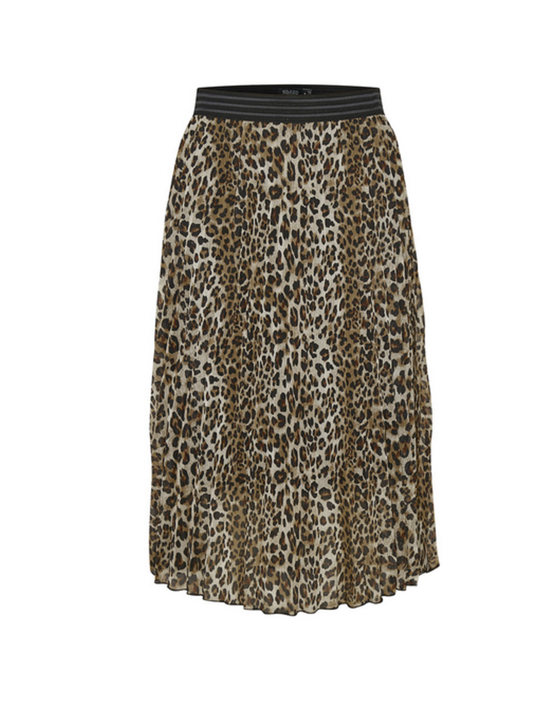 Soaked In Luxury Teri Pleated Skirt