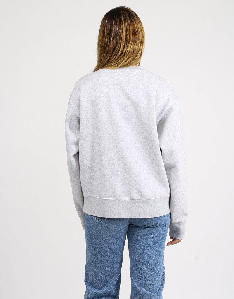 Brunette Showroom Step Sis Crew Neck College