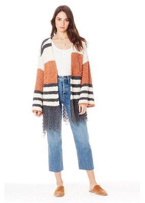 Saltwater Luxe 3/4 Sleeve Tassel Sweater