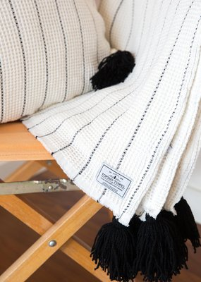 Tofino Towel Bungalow Throw Blanket