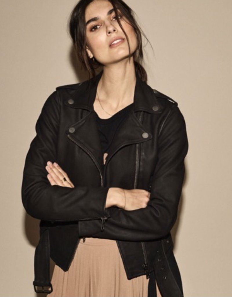 Mos Mosh Cecily Nubuck Leather Jacket