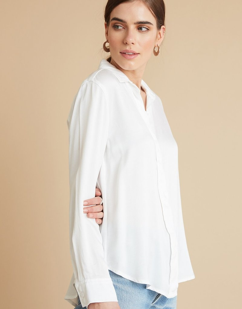 Bella Dahl Hiding Placket Shirt