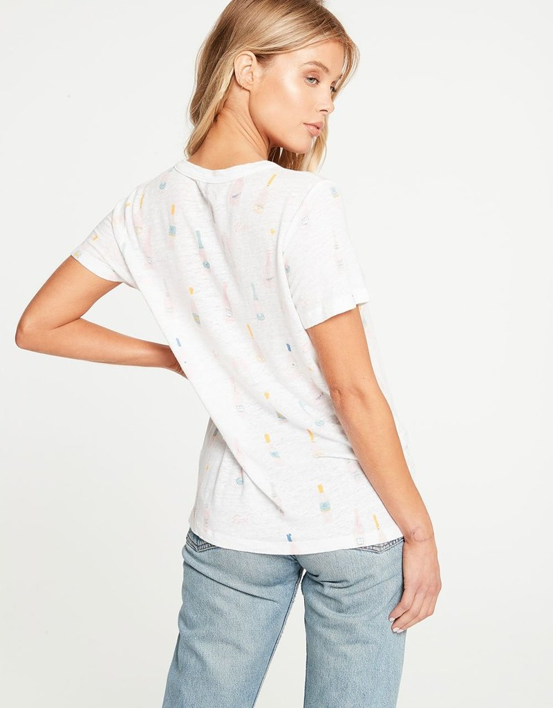 Chaser Linen Jersey Tee