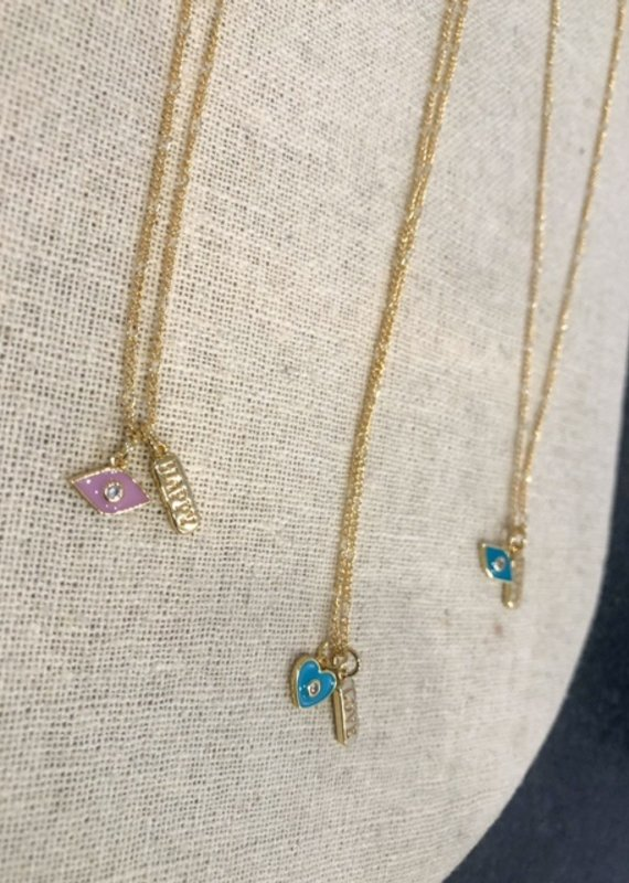 """Studio III.XX 17"""" Charm Necklace"""
