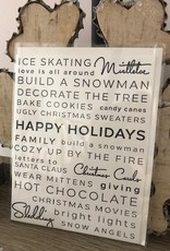 Wrinkle and Crease Holiday Cards