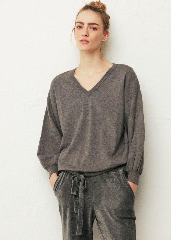 Melissa Nepton Lewi Tie Front Sweater