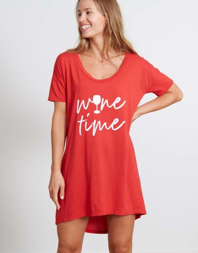 good hYOUman Margot Sleep Shirt