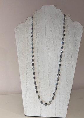 BlacKnot Jewellery Freshwater Pearl Swarovski Necklace