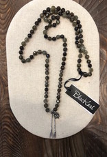 BlacKnot Jewellery Labradorite Charm Necklace