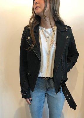 Mos Mosh Cecily Nubuck Leather Jacket