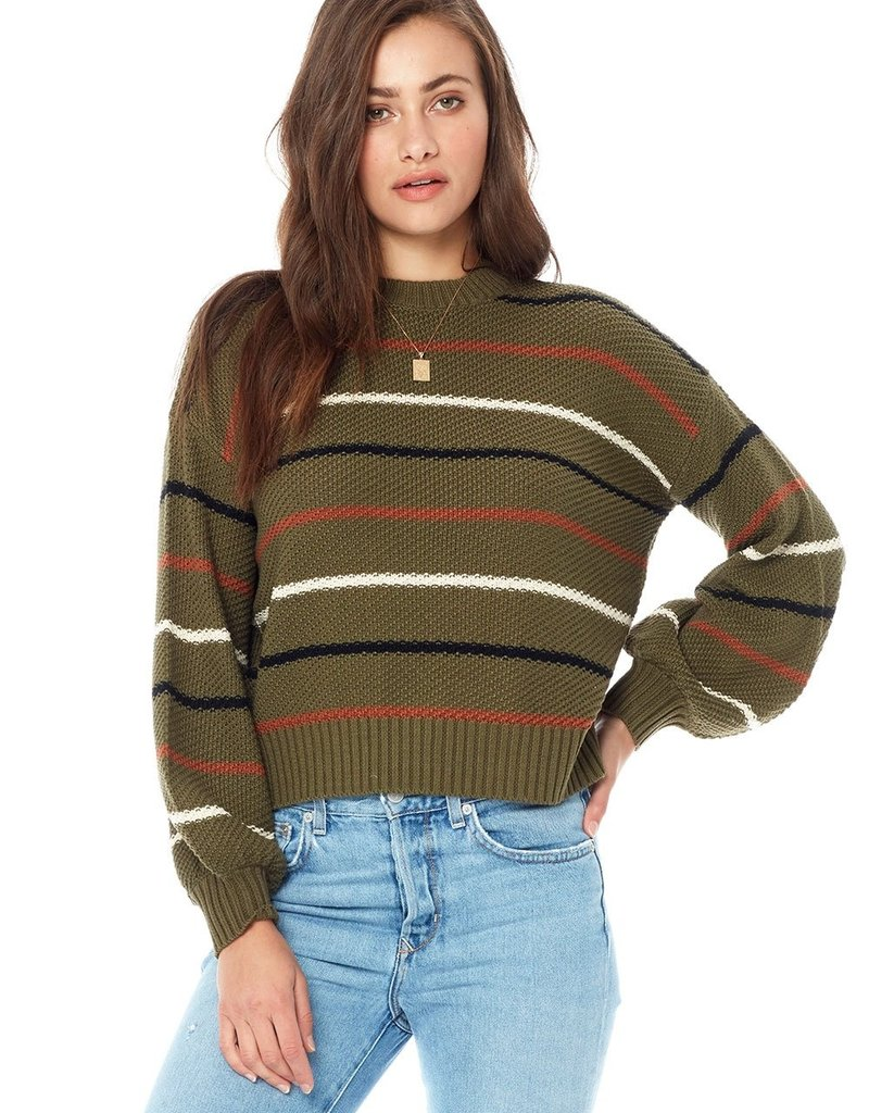 Saltwater Luxe Vale Stripe Sweater