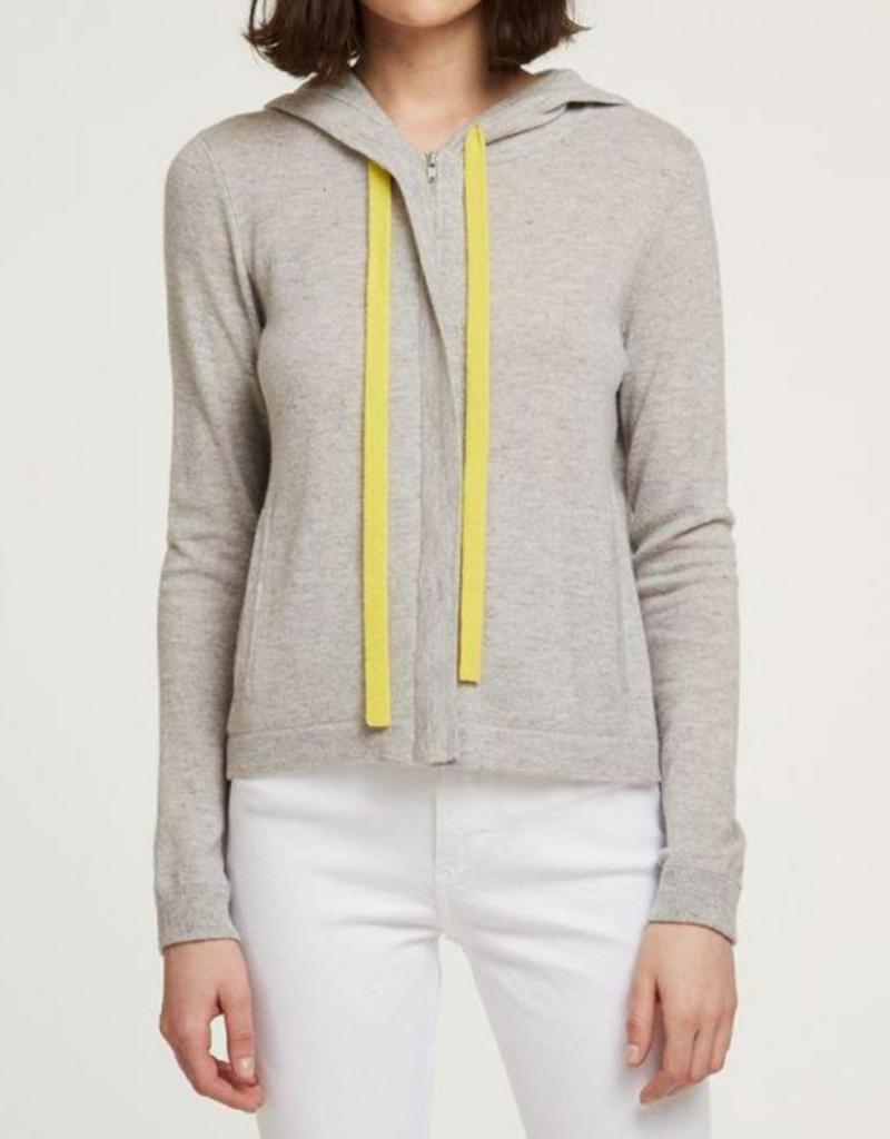 Autumn Cashmere Side Zip Hoodie