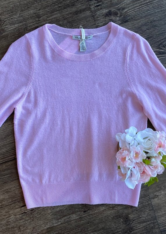 Autumn Cashmere Puff Sleeve Pullover