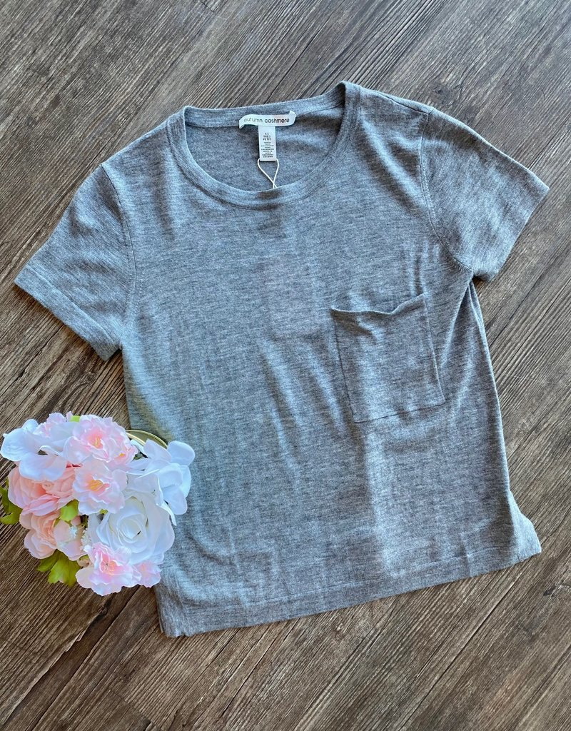 Autumn Cashmere Knit Pocket Tee