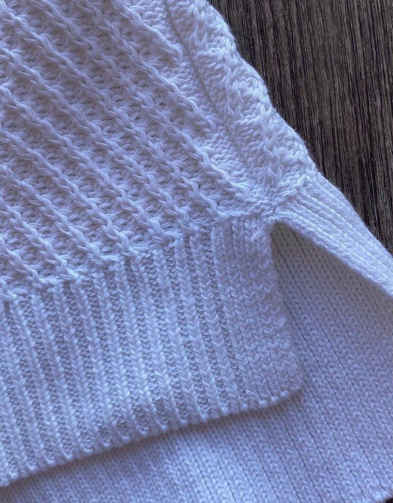 Autumn Cashmere Chunky Hi-Lo Knit