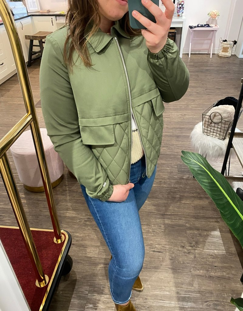 Soia and Kyo Lori Quilted Jacket