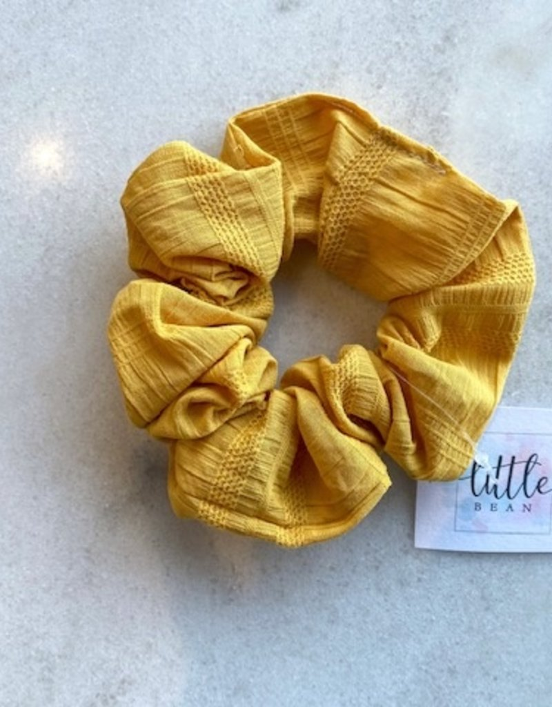 Little Bean YEG Linen Scrunchie