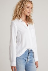 Bella Dahl Trimmed Pocket Button Down