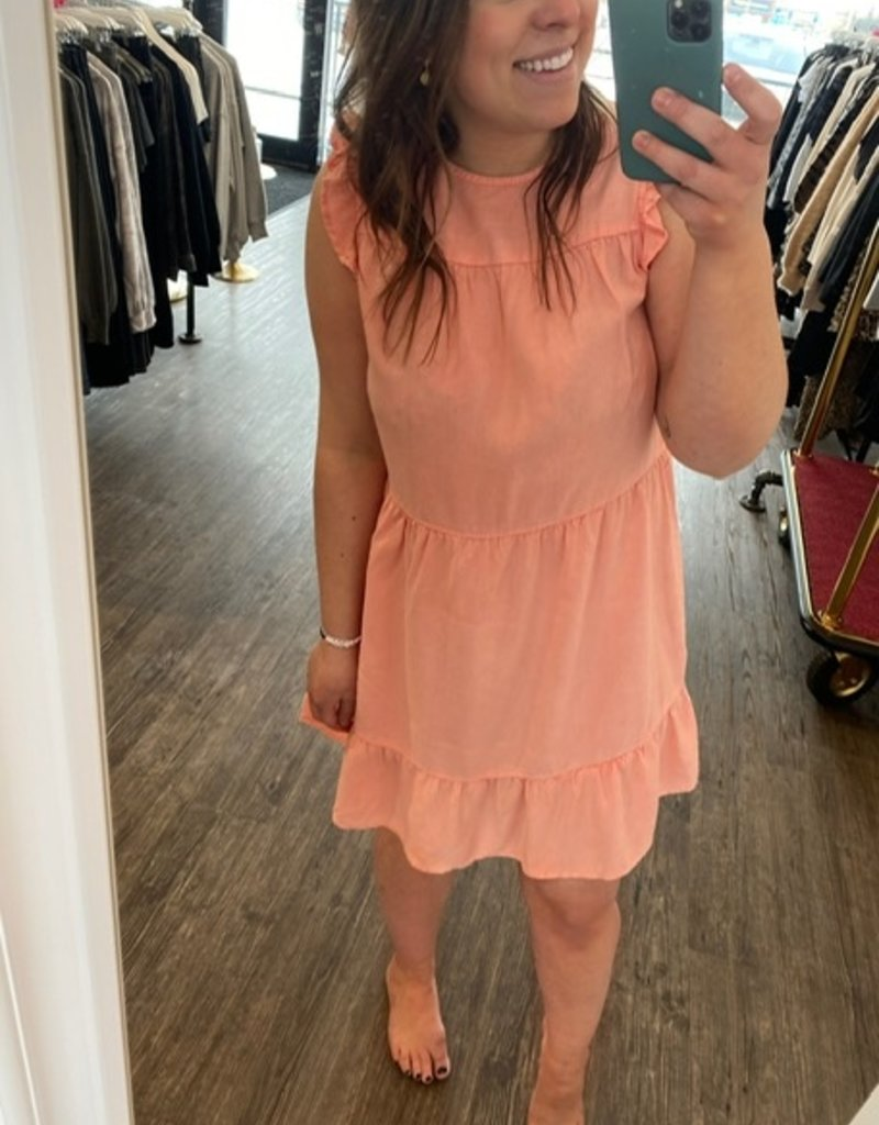 Bella Dahl Ruffle Tiered Dress