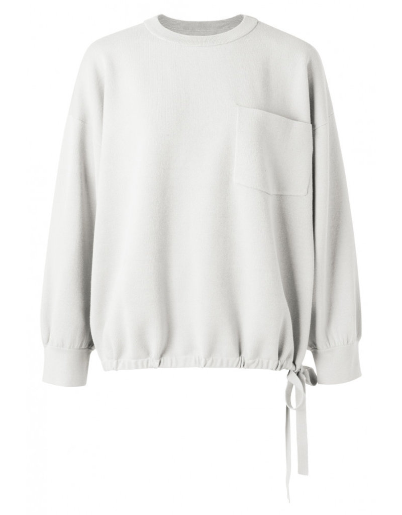 Yaya Boxy Pocket Sweater